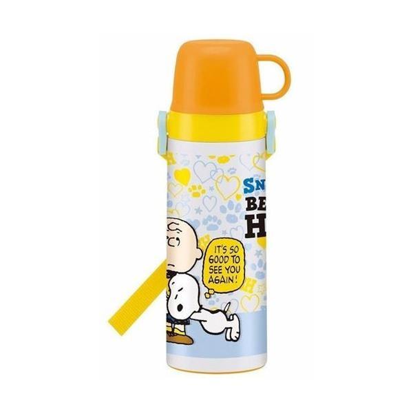 2way中栓ステンレスボトル 600ml スケーター 子供用 超軽量 保冷 保温 直飲み コップ飲み|sawadaya-net|07