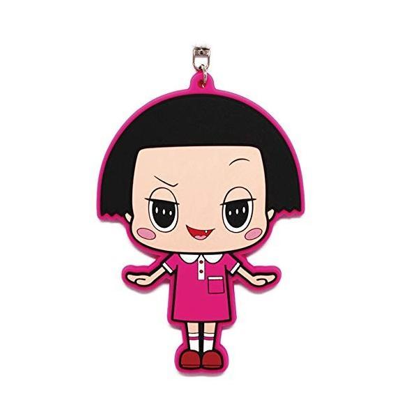 キーホルダー チコちゃん チコちゃんに叱られる ラバーキーホルダー 全身 かわいい NHK キャラクター 可愛い おすすめ 人気 送料無料 sawagift