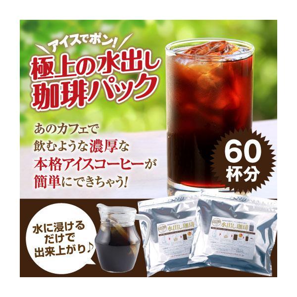 アイスコーヒー水出しコーヒーコーヒーコールドブリュー専門店極上水出し珈琲福袋(1袋10パック入り×2)グルメ