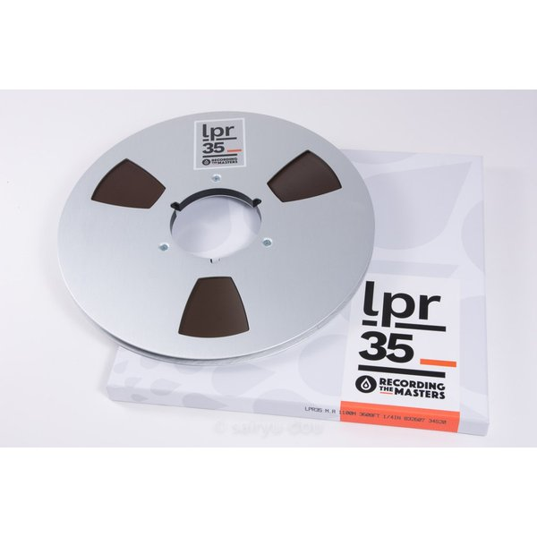 オープンリールテープ RECORDING THE MASTERS LPR35 1/4 3600f Metal|sayryu-do