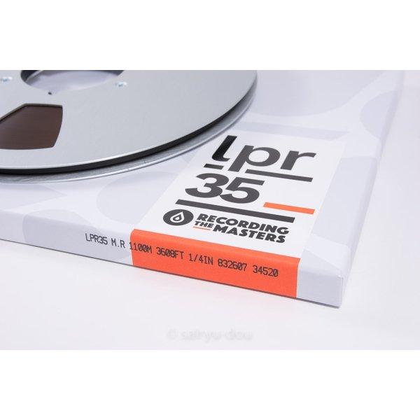 オープンリールテープ RECORDING THE MASTERS LPR35 1/4 3600f Metal|sayryu-do|02