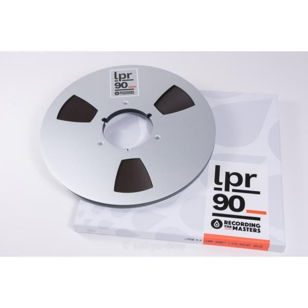 オープンリールテープ RECORDING THE MASTERS LPR90 1/4 3600ft Metal|sayryu-do