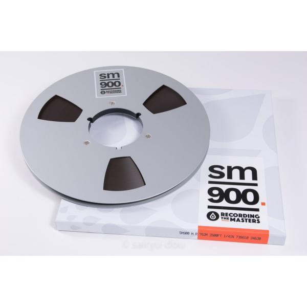 オープンリールテープ RECORDING THE MASTERS SM900 1/4 2500f Metal|sayryu-do