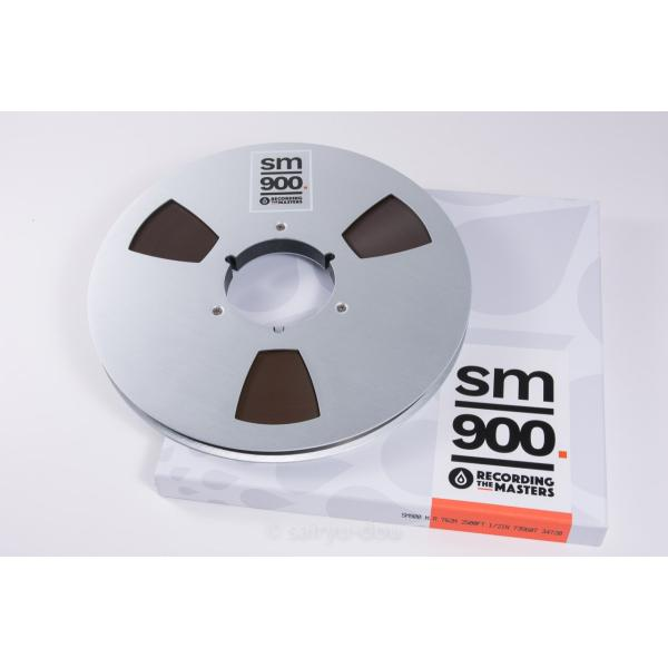 オープンリールテープ RECORDING THE MASTERS SM900 1/2 2500f Metal|sayryu-do