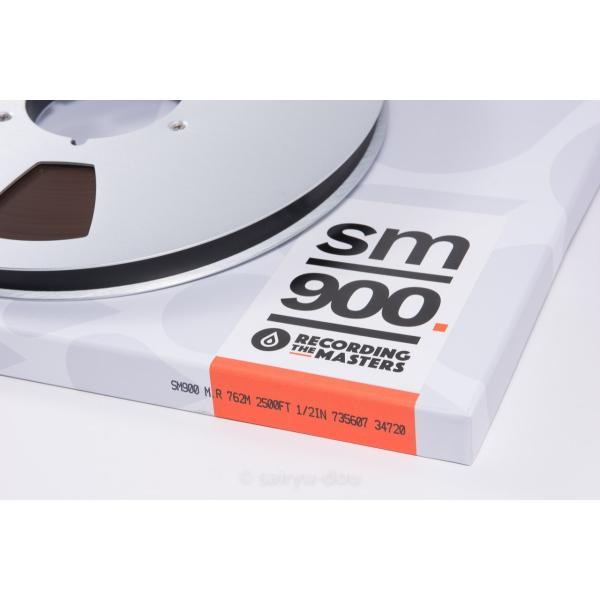 オープンリールテープ RECORDING THE MASTERS SM900 1/2 2500f Metal|sayryu-do|02