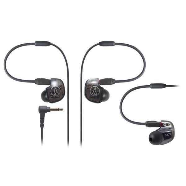 audio-technica IM Series カナル型モニターイヤホン トリプル・バランスド・アーマチュア型 ATH-IM03