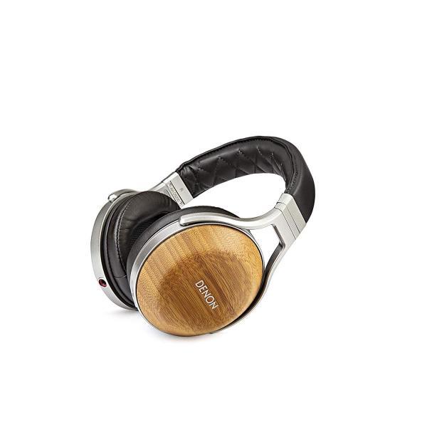 DENON ヘッドホン オーバーイヤー/ハイレゾ音源対応/ウッドハウジング 木目 AH-D9200