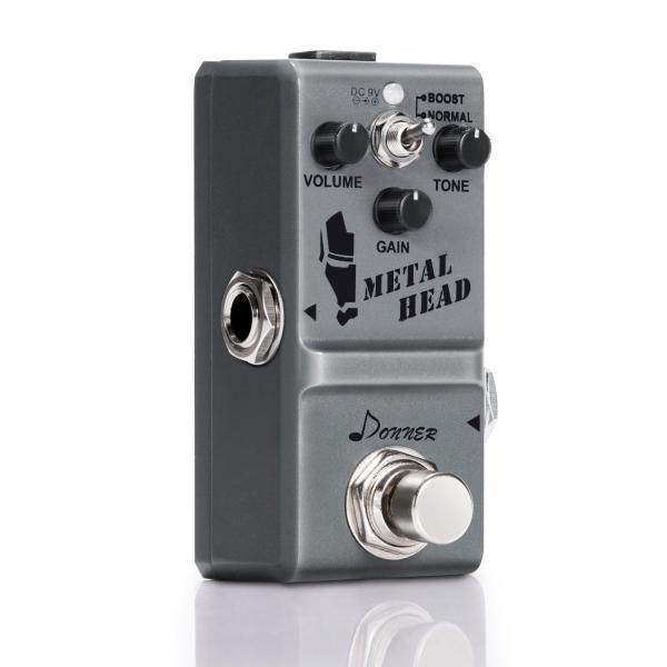 Donner Metal Head ギター用ヘビーメタルエフェクター エレキギタ― 重金属効果 Heavy Metal ハイゲイン ディスト|sb18shop