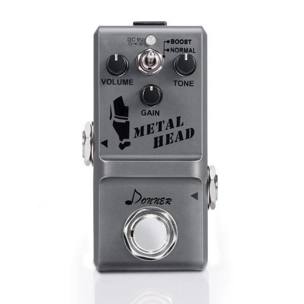 Donner Metal Head ギター用ヘビーメタルエフェクター エレキギタ― 重金属効果 Heavy Metal ハイゲイン ディスト|sb18shop|05