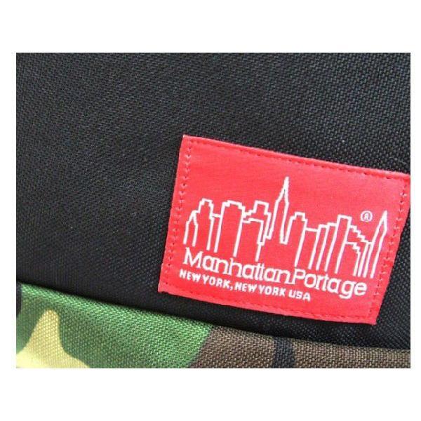 マンハッタンポーテージ MP1631 Flatbush Messenger Bags BLACK/RED