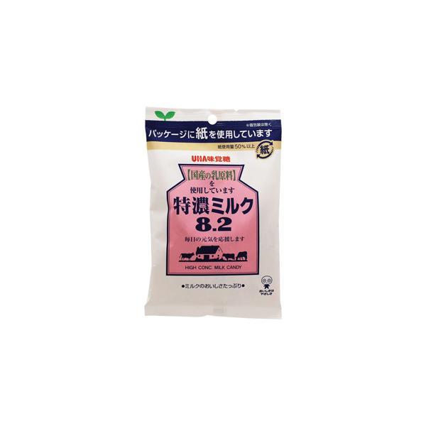 【ma】 UHA味覚糖 特濃ミルク 8.2 (88g) キャンディ