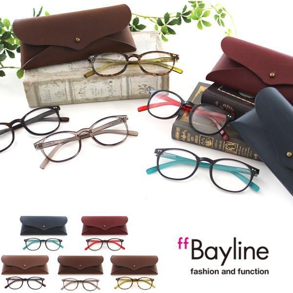 【Bayline】TR90 ボストンフレーム リーディンググラス 老眼鏡 シニアグラス 男女兼用 カジュアル おしゃれ シンプル
