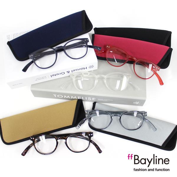 Bayline ネックリーダーズ ボストンフレーム スタイリッシュ 老眼鏡 リーディンググラス シニアグラス 女性用 男性用