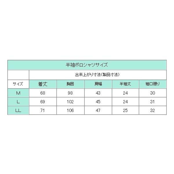 中学生 高校生 制服 半袖 ポロシャツ M〜LL 男女兼用|schoolcarrots|03