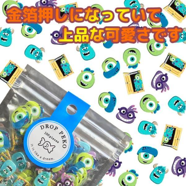 クラックス フレークシール DROP PEKO ディズニー 48549 キャラクターシール プレゼント 手帳のデコレーションなど|schooltown|03