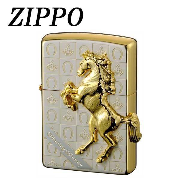 ZIPPO ウイニングウィニーグランドクラウン SG 喫煙グッズ 立体的にきらめく、高級感溢れるジッポー。