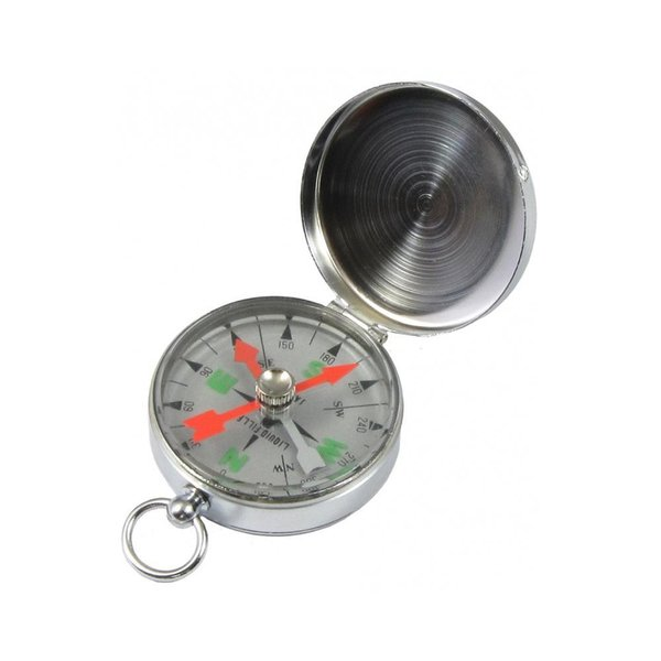 YCM オイル入 ポケットコンパス G-48 シルバー アウトドア カプセル内にオイルを封入したオイルコンパス