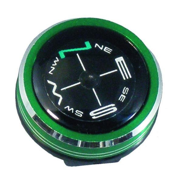 ハイマウント(HIGHMOUNT) リストコンパス NO.800 メタリックグリーン 11218 アウトドア 時計のベルトに付けられるコンパス