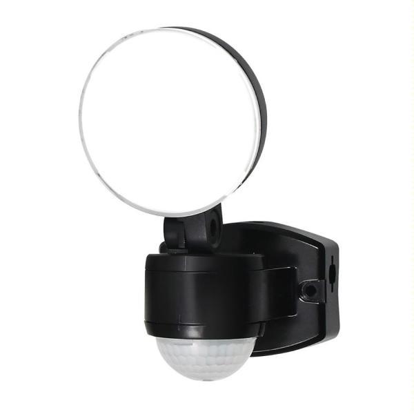 ELPA(エルパ) 屋外用LEDセンサーライト AC100V電源(コンセント式) ESL-SS411AC ガーデニング・花・植物・DIY 暗闇でセンサーが人や車の動きを検知して自動点