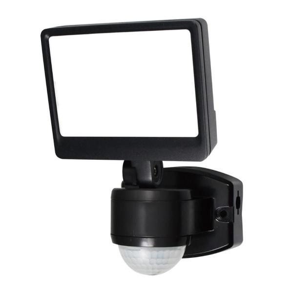 ELPA(エルパ) 屋外用LEDセンサーライト AC100V電源(コンセント式) ESL-SS421AC ガーデニング・花・植物・DIY 暗闇でセンサーが人や車の動きを検知して自動点