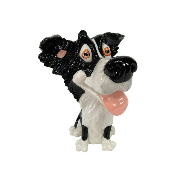 眼鏡スタンド(ボーダー・コリー) 32004 衛生用品 犬のデザインがかわいい眼鏡スタンド。