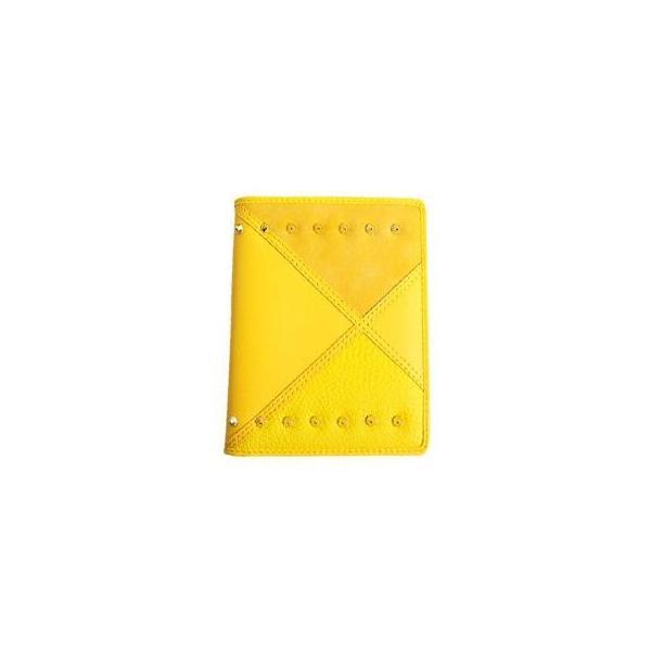 AWESOME(オーサム) パスポートケース アワーグラスシリーズ イエロー ASPC-HG07 アウトドア オシャレなパスポートカバー!