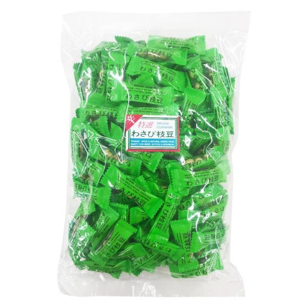 わさび枝豆 300g×10袋 D-3 スイーツ・お菓子 わさびが効いた豆菓子♪