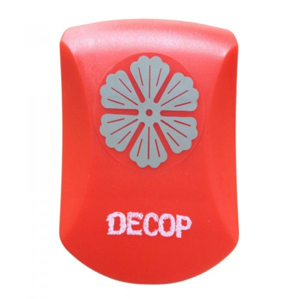 Paper Intelligence DECOP クラフトパンチ エンボスパンチ フローラル 4104174 文具 重ねて使うと立体的なお花になります♪