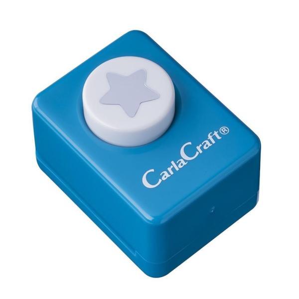 Carla Craft(カーラクラフト) クラフトパンチ(小) ホシ/星 CP-1 4100645 文具 アルバムや手紙のデコレーションにおすすめです♪