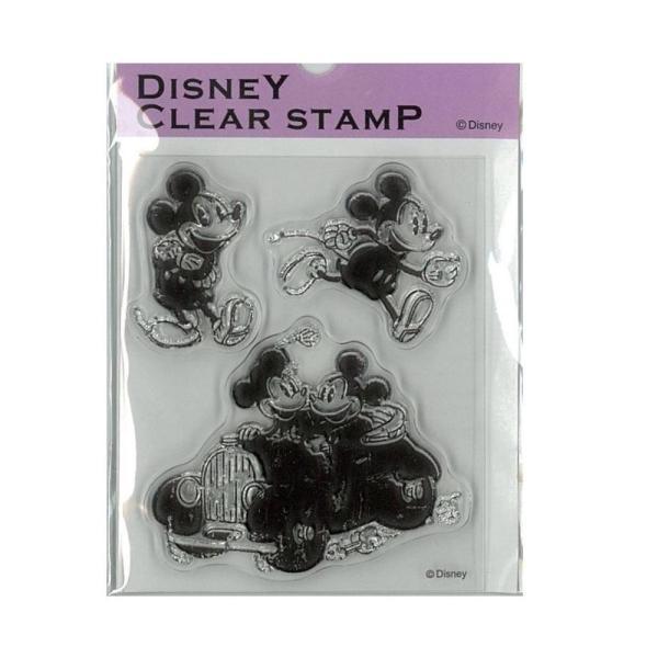 Paper Intelligence Disney(ディズニー) クラシカルスタンプ ミッキー&ミニー2 STP-D0011 4101405 文具 アルバムや手紙のデコレーションにおすすめです♪