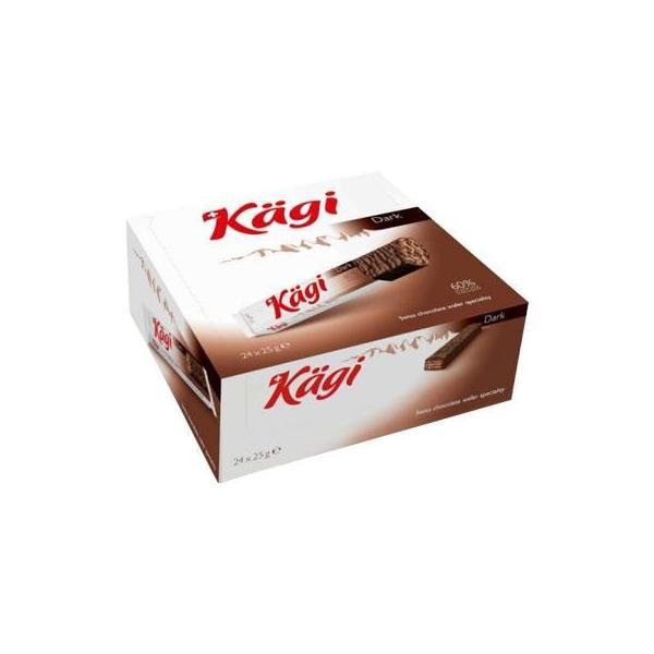Kagi(カーギ) チョコウエハース ダークバー 25g×24本 スイーツ・お菓子 口どけ滑らかなチョコウエハース