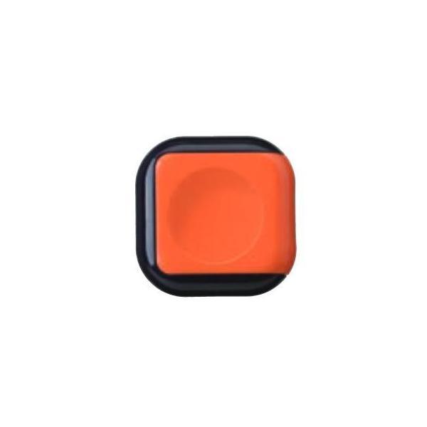 朱肉 シュイングベベ. 25号(丸型) キャロットオレンジ SG-B01 文具 スタイリッシュなデザイン!