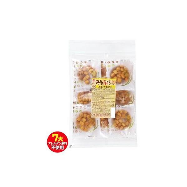 サンコー 元気 黒豆きな粉あられ 10袋 スイーツ・お菓子 国産黒豆のきな粉をまぶしたあられです。