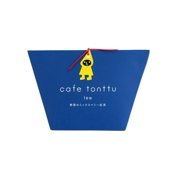 カフェトントゥ ティー 野原のミックスベリー紅茶 2g×5包入 12セット 飲料 かわいいデザインでプチギフトやプレゼントにオススメ!