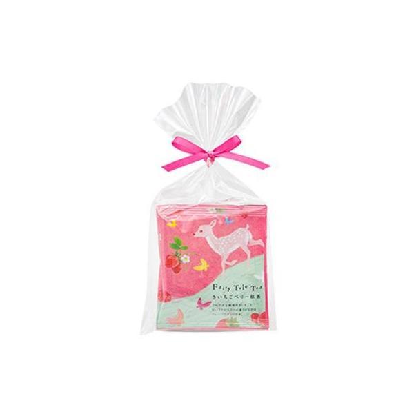フェアリーテールティー きいちごベリー紅茶 2g×3包入 12セット 飲料 かわいいデザインでプチギフトやプレゼントにオススメ!