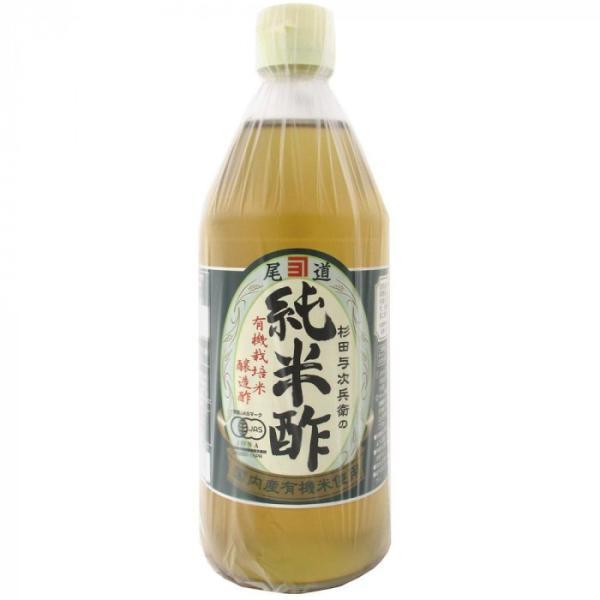 純米酢 500ml 6個セット 調味料 原料は国内産の有機米!