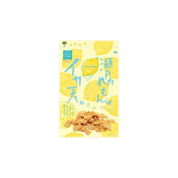 まるか食品 イカ天瀬戸内れもん味 80g(12×4) スイーツ・お菓子 酸味が効いた瀬戸内産レモン味付けのイカ天