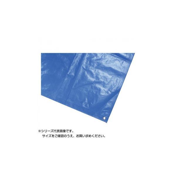 鵜沢ネット 防水カバーシート 5.4×5.4m ブルー 3000 11041 アウトドア グランドなどで活躍する防水カバーシート。