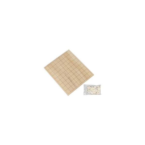 将棋盤駒付セット 304×258mm MX-SYS1 玩具 シンプルな将棋盤と駒のセット