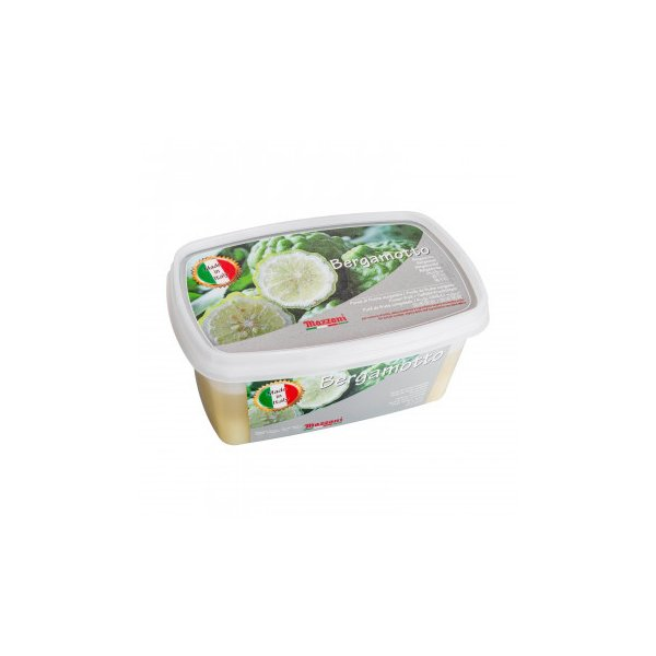 マッツォーニ 冷凍ピューレ ベルガモット 1000g 6個セット 9401 フルーツ・野菜 デザート作りなどに便利なフルーツの冷凍ピューレ