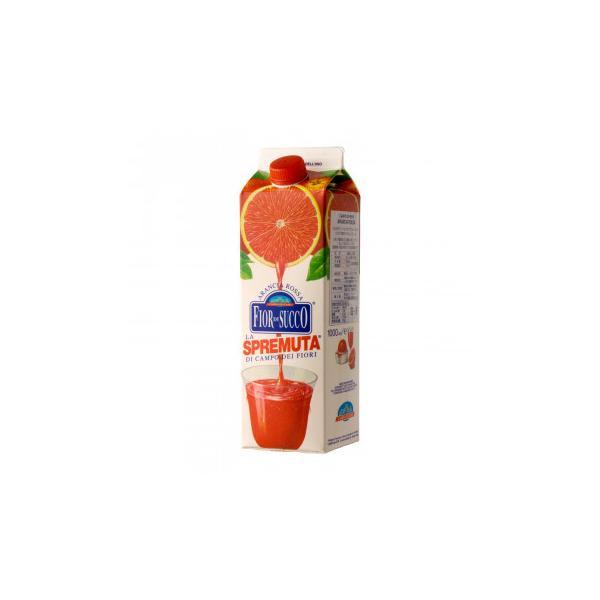 カンポ・ディ・フィオーリ 冷凍ブラッドオレンジジュース 1000ml 12本セット 6293 飲料 搾りたて果汁をそのままパック詰め・冷凍