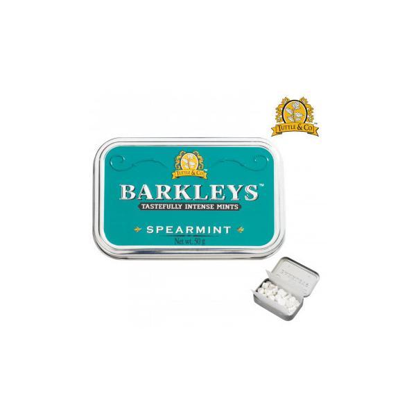 BARKLEYS バークレイズ クラシックタブレット スペアミント味 6個 10271001 スイーツ・お菓子 シンプルな素材とクラシックなエンボス缶が特徴のタブレット