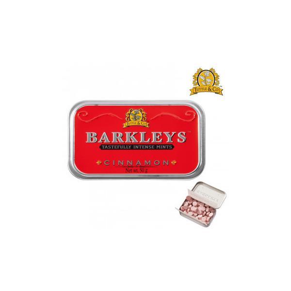BARKLEYS バークレイズ クラシックタブレット シナモン味 6個 10271002 スイーツ・お菓子 シンプルな素材とクラシックなエンボス缶が特徴のタブレット