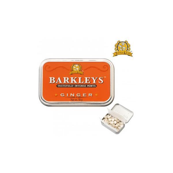 BARKLEYS バークレイズ クラシックタブレット ジンジャー味 6個 10271003 スイーツ・お菓子 シンプルな素材とクラシックなエンボス缶が特徴のタブレット