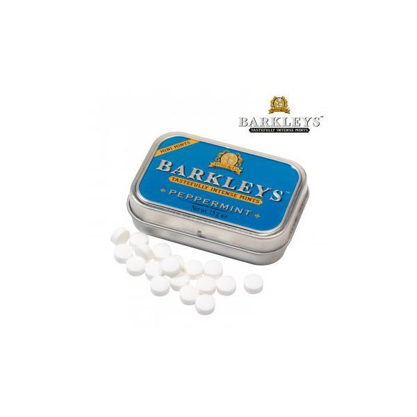 BARKLEYS バークレイズ シュガーフリーミント ペパーミント味 12個 10271007 スイーツ・お菓子 シンプルな素材とクラシックなエンボス缶が特徴のタブレット