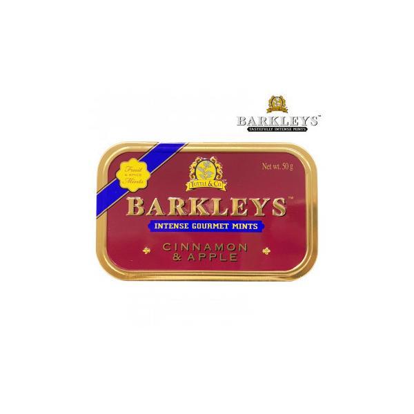 BARKLEYS バークレイズ グルメタブレット シナモン&アップル味 6個 10271010 スイーツ・お菓子 シンプルな素材とクラシックなエンボス缶が特徴のタブレット