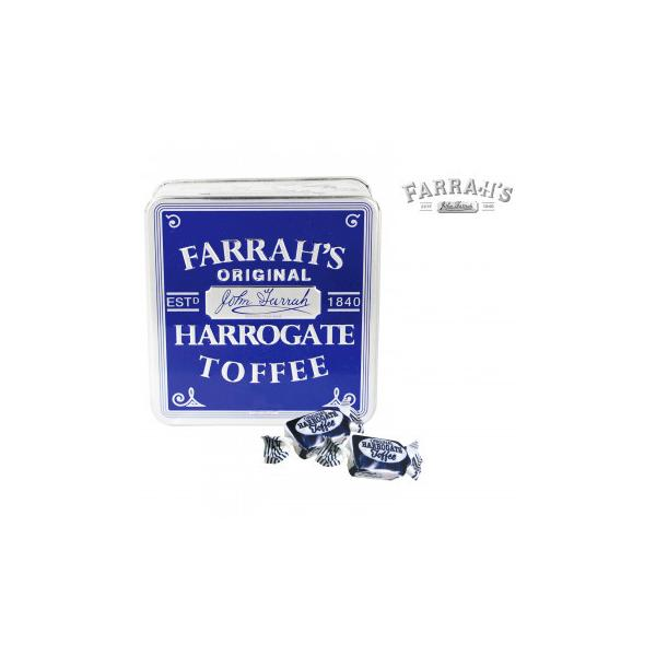 FARRAH'S  ファラーズ オリジナルハローゲートトフィー 24個 10031001 スイーツ・お菓子 エンボス加工の効いたクラシック缶に入った英国のお菓子