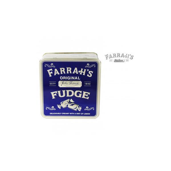 FARRAH'S  ファラーズ オリジナルレモンファッジ 24個 10031002 スイーツ・お菓子 エンボス加工の効いたクラシック缶に入った英国のお菓子