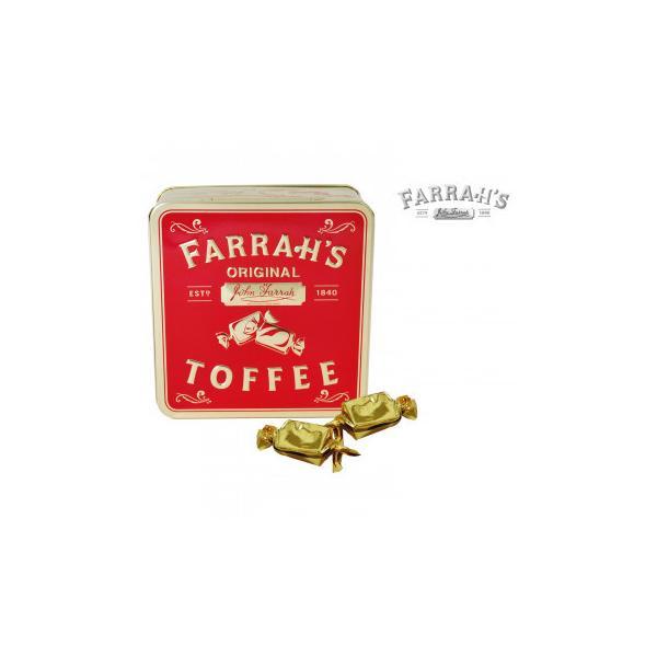 FARRAH'S  ファラーズ オリジナルクリーミーファッジ 24個 10031003 スイーツ・お菓子 エンボス加工の効いたクラシック缶に入った英国のお菓子