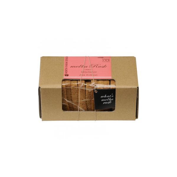ノースファームストック メルバラスク(七味唐辛子) 10枚入り 30個 スイーツ・お菓子 北海道産小麦の全粒粉を使用したラスク